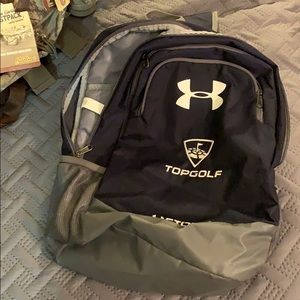 A top golf under armor back pack
